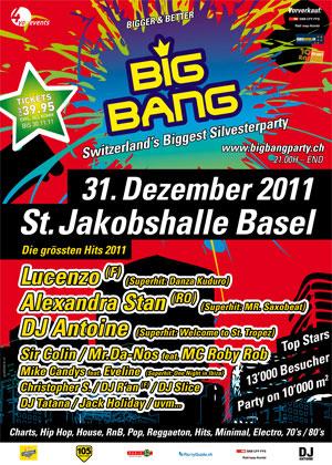 Big Bang - Switzerland's Biggest Silvester Party ...
