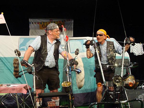 Comedy-Duo Messer & Gabel