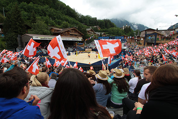 Swatch Beach Volleyball Major Series - Gstaad Major - FIVB Beach Volleyball World Tour 2014