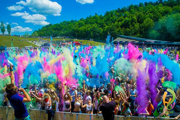 Holi Festival Of Colours Bilder