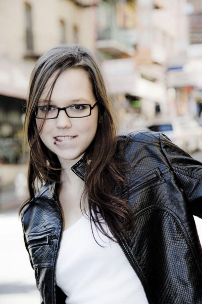 The 28-year old daughter of father (?) and mother(?), 162 cm tall Stefanie Heinzmann in 2017 photo