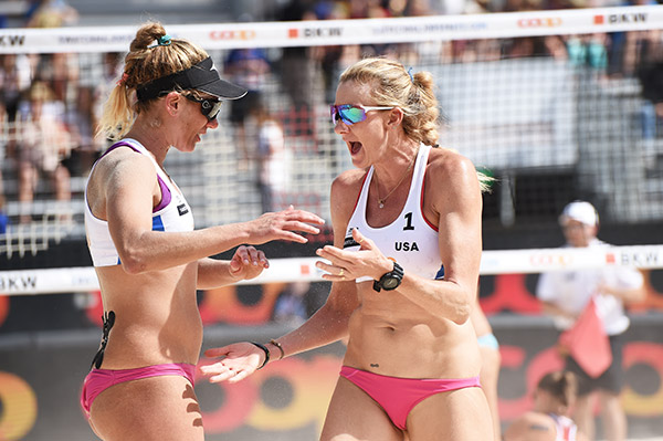 major beachvolleyball