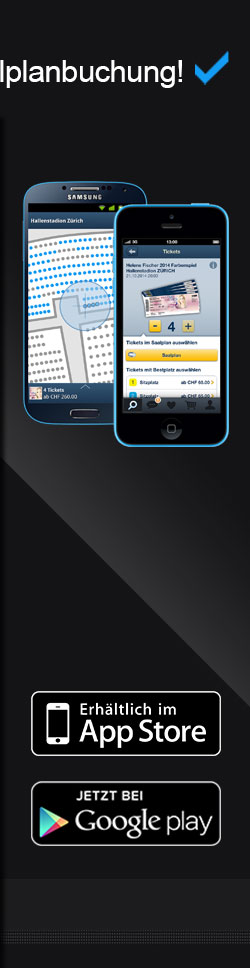 Ticketcorner New App