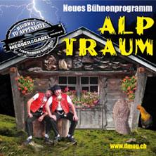 Bühnenprogramm alpTraum, Comedy-Duo Messer & Gabel - Tickets