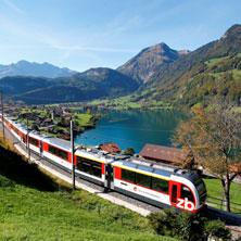 Zentralbahn Führerstandsfahrt ab Interlaken Ost