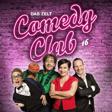 DAS ZELT - Comedy Club 16 - Baldrian, Corti, Zuccolini u. a. - Tickets