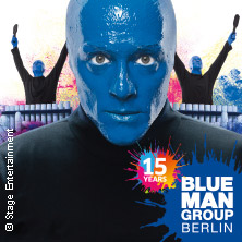 blue man group in berlin tickets ticketcorner. Black Bedroom Furniture Sets. Home Design Ideas