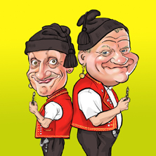 Comedy-Duo Messer & Gabel - selbertschold