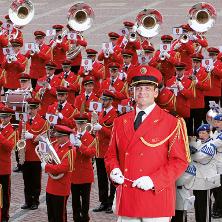 Die goldene Marschparade - Swiss Army Central Band