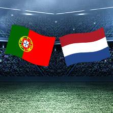 Fussball Freundschaftsspiel Portugal - Niederlande