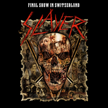 Slayer in GENÈVE, 19.06.2019 - Tickets -