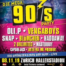 Die Mega 90er Party - Die grössten Stars live!