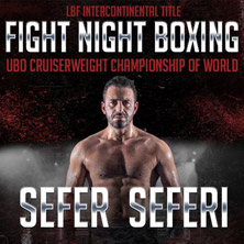 Fight Night Boxing Sefer Seferi