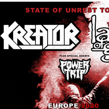 KREATOR & LAMB OF GOD - Support: POWER TRIP in ZÜRICH, 07.04.2020 - Tickets -
