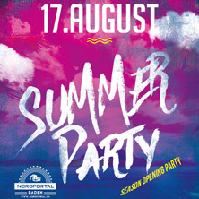 Summer Party Season Opening