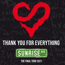 Sunrise Avenue in Zürich, 02.04.2021 - Tickets -