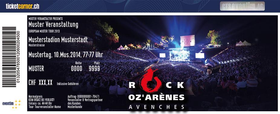 rock oz arènes 2018 programm