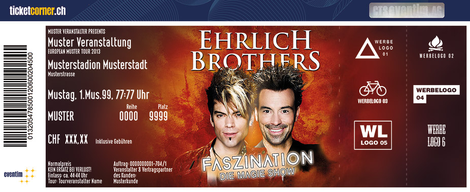 ehrlich brothers tour 2018