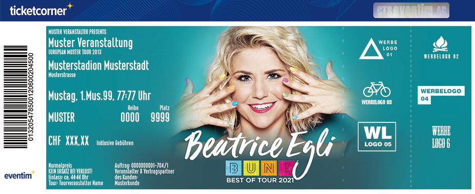 Beatrice Egli Tour 2021 Termine