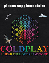 Coldplay New Tickets