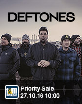 Deftones friends&members Priority Sale