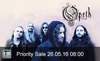 Opeth friends&members Priority Sale