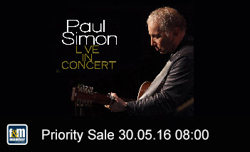 Paul Simon friends&members Priority Sale