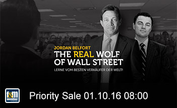The Real Wolf of Wall Street friends&members Priority Sale