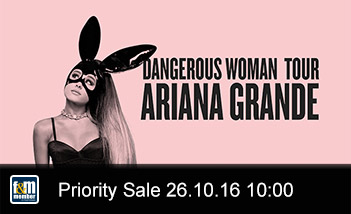 Ariana Grande friends&members Priority Sale