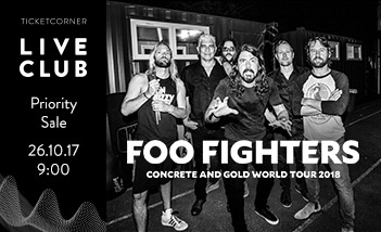 Foo Fighters Live Club Priority Sale