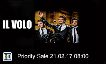 Il Volo friends&members Priority Sale