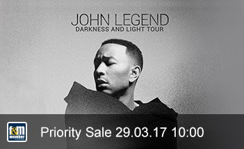 John Legend friends&members Priority Sale