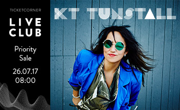KT Tunstall - Live Club Priority Sale