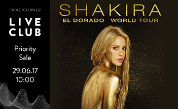 Shakira friends&members Priority Sale